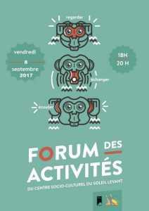 FORUM des Activités @ CSC du Soleil Levant | Saint-Herblain | Pays de la Loire | France