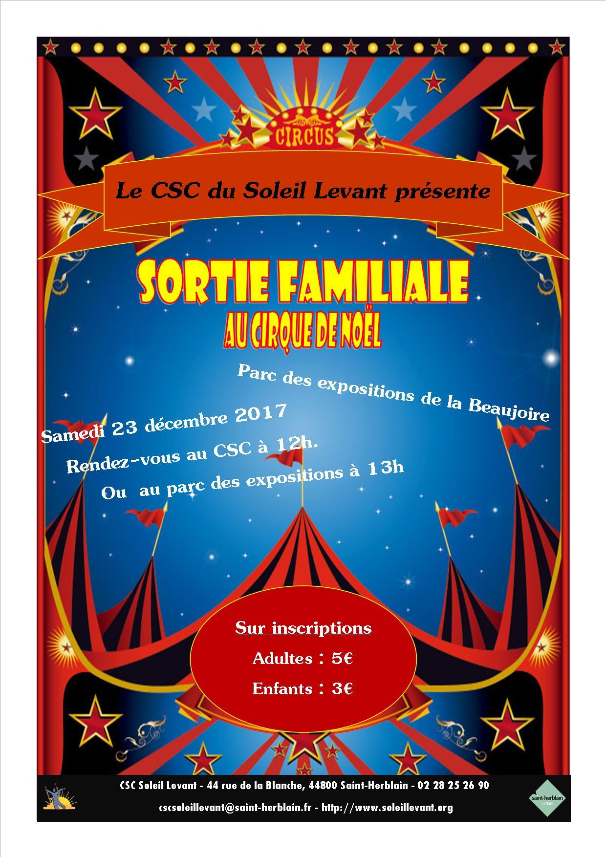 Sortie familiale au Cirque