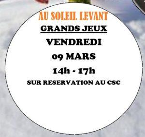 Grands jeux au Tillay @ Salle Camille Desmoulins (RDV) | Saint-Herblain | Pays de la Loire | France