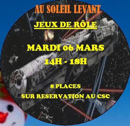 Jeux de rôle au Soleil Levant @ CSC du Soleil Levant | Saint-Herblain | Pays de la Loire | France