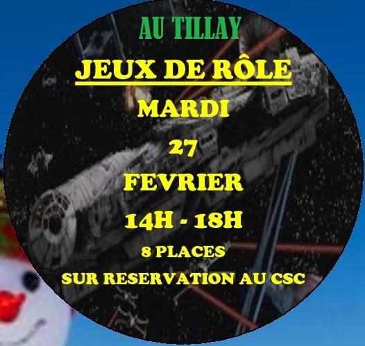 Jeux de rôle au Tillay @ Salle Condorcet | Saint-Herblain | Pays de la Loire | France
