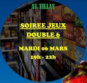 Soirée jeux double 6 au Tillay @ Salle Camille Desmoulins | Saint-Herblain | Pays de la Loire | France
