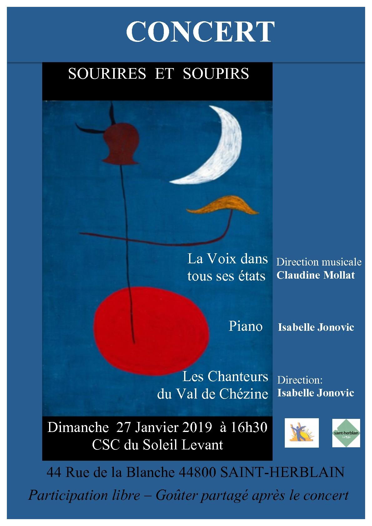 """Concert """"La Voix dans tous ses états"""""""